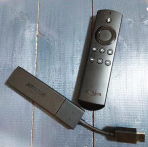 動画配信サービスを見るためのAmazon Fire TV Stick(アマゾンファイヤーTVスティック)