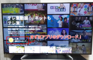 ネットもテレ東をテレビで視聴する方法